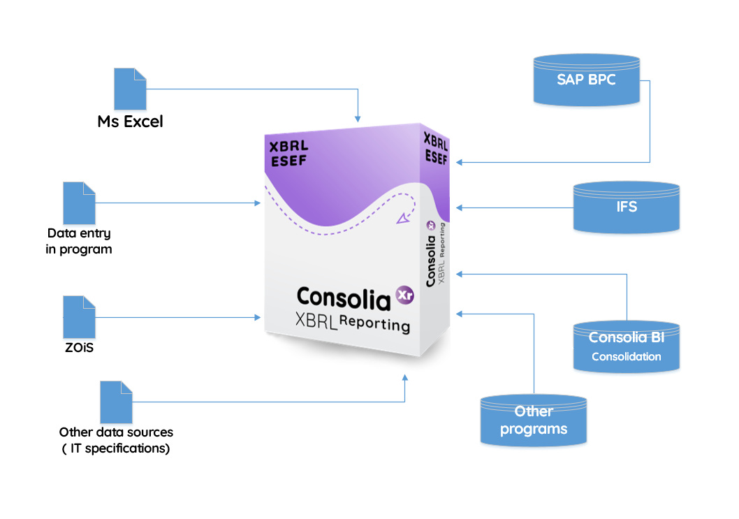 Consolia XBRL Reporting Imports and Integration